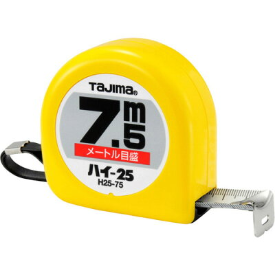 TJMデザイン タジマ H25-75 ハイ-25 7.5M H2575