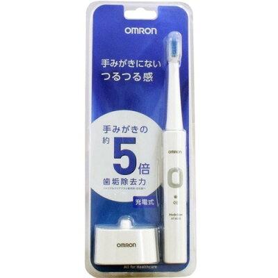 オムロン 音波式電動歯ブラシ メディクリーン HT-B305-W(1台)