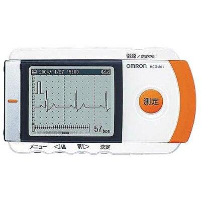 オムロン 携帯型心電計 HCG80 (1台)
