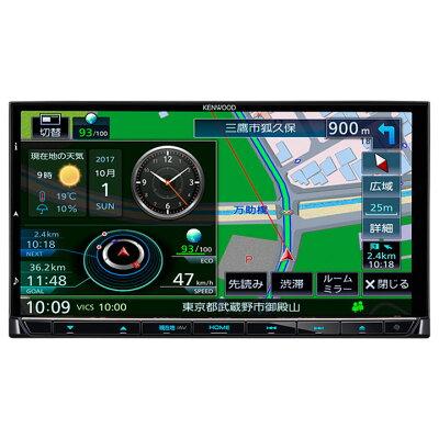 KENWOOD 彩速ナビ ハイレゾ対応 地上デジタルTVチューナー Bluetooth内蔵DVD USB SD AVナビゲーションシステム MDV-M705
