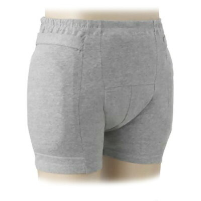 ラ・クッションパンツ男性用 (パンツのみ) グレー M 3904(1枚入)