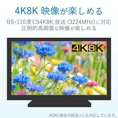 6DMS DXアンテナ 6分配器 4K/8K対応 6DMS