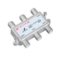 DXアンテナ 共同受信用5分配器 10~2610MHz帯用・1端子間通電仕様 5DA1 5DE1