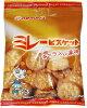 野村煎豆加工店 やっぱりまじめミレービスケット キャラメル風味 70g