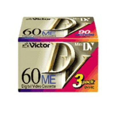 Victor・JVC ミニDVカセット 3M-DV60B
