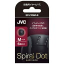 JVC シリコンイヤーピース EP-FX9M-B