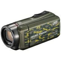 Victor・JVC ビデオカメラ GZ-R400-G