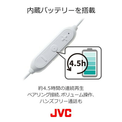 ワイヤレスステレオヘッドセット ブルー HA-FX27BT-A(1コ入)