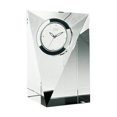NARUMI GLASSWORKS(GLASSWORKS(グラスワークス)) クロック(S)(プリズム) GW1000-11008 光学ガラス