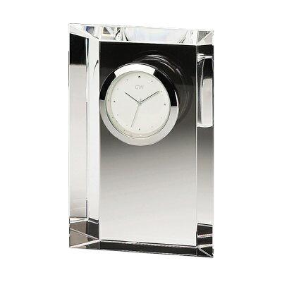 NARUMI GLASSWORKS(グラスワークス) クロック(M)(エンブレム) GW1000-11023 光学ガラス