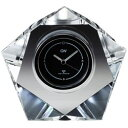 NARUMI グラスワークス 電波時計(ハニカム) GW1000-11211 光学ガラス