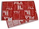 FL1255-R フィラ ピース スポーツタオル レッド FILA SPORTS TOWEL FL1255Rニツセン