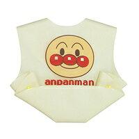 アンパンマン 立体ポケットエプロン クリーム