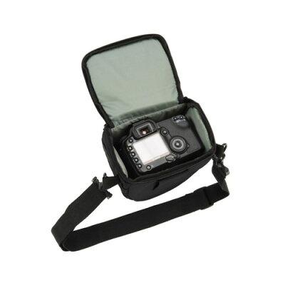 E-3400 エツミ デジタル一眼カメラ用ケース ブラック トライアングルIII E3400