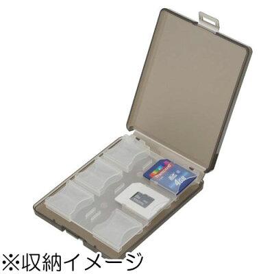 エツミ SDカードホルダー12 グレー E-5264