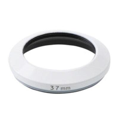 エツミ メタルインナーフード+キャップセット 37mm ホワイト E-6466 E6466