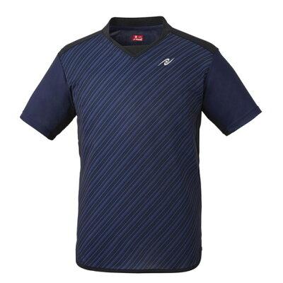 卓球ゲームシャツ スライプシャツ サイズ:L カラー:ネイビー #NW-2198-02