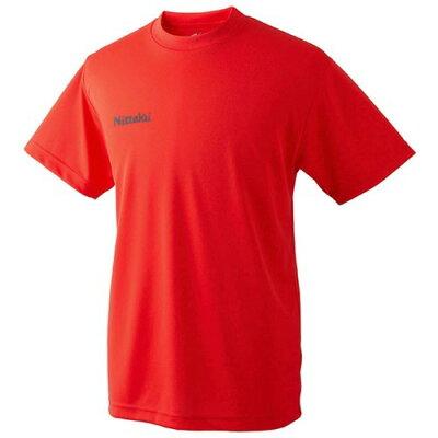 ニッタク ドライTシャツ レッド 150サイズ(1枚入)