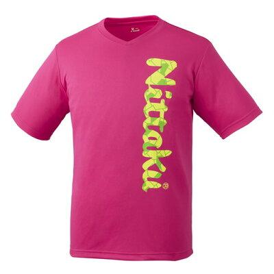 ビーロゴTシャツ2 ユニセックス サイズ:SS カラー:ピンク #NX-2097-21