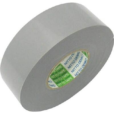 21R25GY 日東電工 脱鉛タイプビニールテープ 幅25mm×長さ20m グレー 10巻 NO.21 21R25GY
