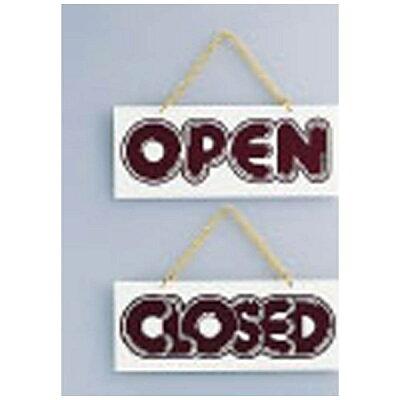 PPL61 店頭サインPLW-2 オープン クローズ 4976052021729
