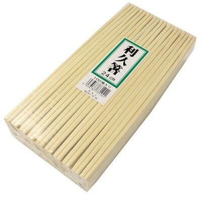 割り箸 業務用 エゾ松 利休箸 おもてなしの心 24cm(100膳入)