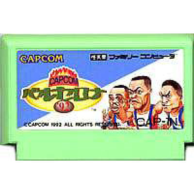 CAPCOMバルセロナ'92ファミコンソフト/スポーツ・ゲーム