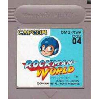 GB ロックマンワールド GAME BOY