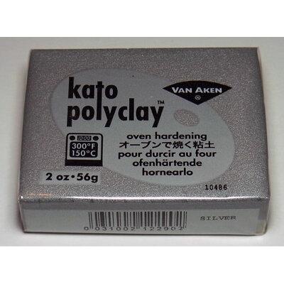 塗料・工具 ケイト・ポリクレイ メタリックカラー シルバー (8215)