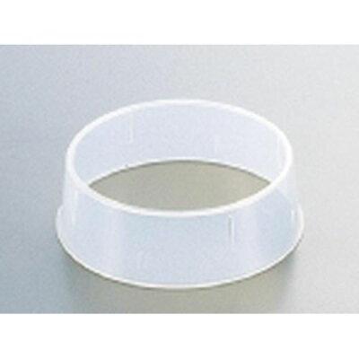 エンテック 抗菌丸皿枠 ポリプロピレン W-1 18~20cm用 NMR42001