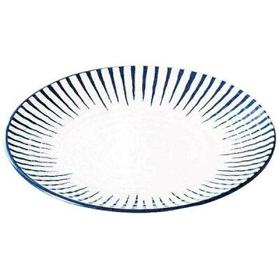 2439200 メラミン和食器 とくさ 丸皿 中 E-13 4976391103230