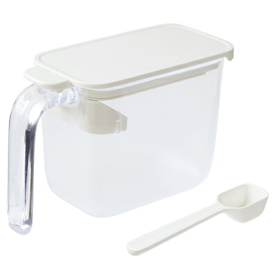 MARNA 調味料ポット ホワイト K736W
