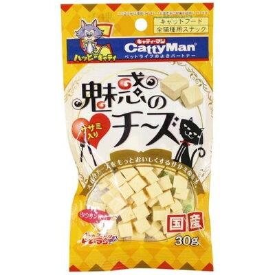 キャティーマン 魅惑のチーズ ササミ入り(30g)