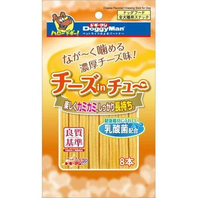 ドギーマン チーズinチュー(8本入)