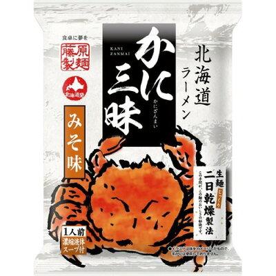 北海道ラーメン かに三昧 みそ味(107g)