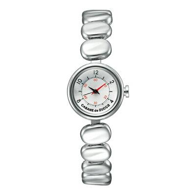 ズッカ コーヒービーンズ クオーツ レディース 腕時計 AJGK072 CABANE de ZUCCa シルバー