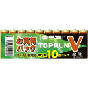 FDK アルカリ乾電池 TOPRUNV 単3-10S 10本