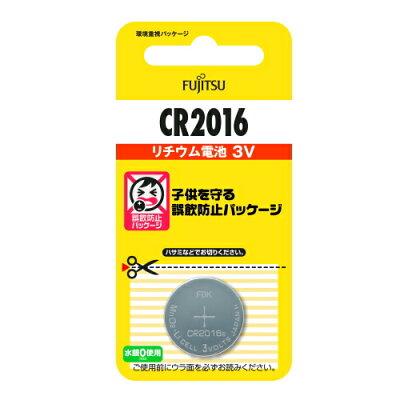 富士通 リチウム電池 CR2016C BN(1コ入)