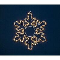 電球色LEDスノーフレークKT2168