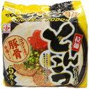 ヒガシフーズ とんこつラーメン 5食入