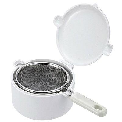 イージーウォッシュ 食洗機対応二重アミ茶こしセット 容器付 C-8637(1セット)