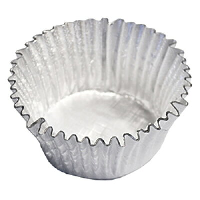 eeスイーツ エンボス加工アルミ箔カップケーキ焼型l