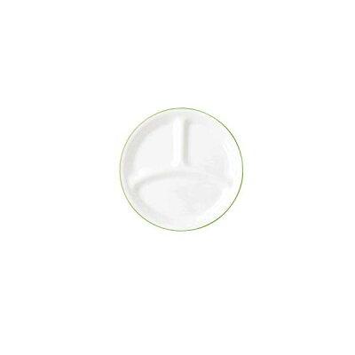コレール タフホワイト リーフ ランチ皿 小 プレート 食器