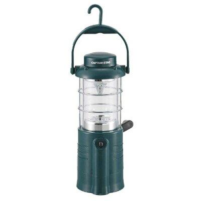 キャプテンスタッグ ユースフルダイナモ&乾電池式LEDランタン M-5130(1コ入)