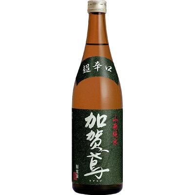 加賀鳶 山廃純米 超辛口 瓶 720ml