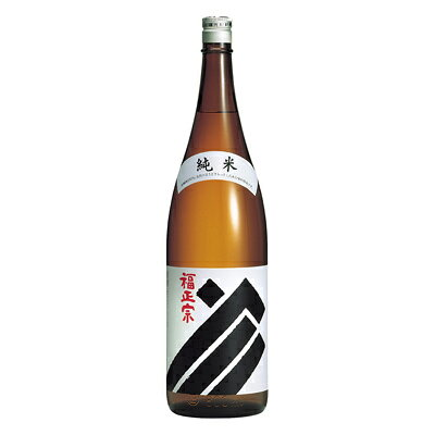 福正宗 純米酒 黒ラベル 1.8L