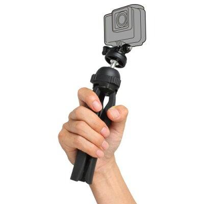 ハクバ アクションカメラ用トライポッドマウント H-GPTM-BK ブラック