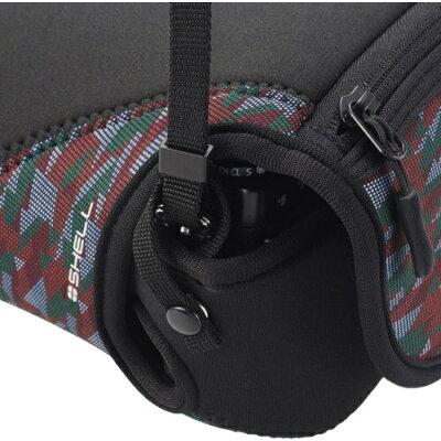 ハクバ プラスシェル スリムフィット02 カメラジャケット S120 アズテック DCS-SF02S120AZ