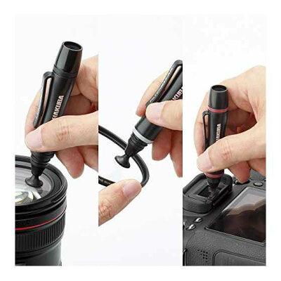 ハクバ レンズペン3 プロキットプラス ブラック KMC-LP23BKTP(1セット)