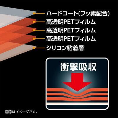 ハクバ DGFS-FXP130 液晶保護フィルム 耐衝撃 FUJIFILM FinePix XP130/XP120用